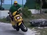 Best Scooter Fails Compilation 2014