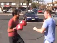 Boxkampf gewinnen nur mit Ausweichen