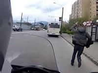 Bus verpasst
