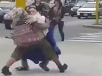 Cooler Tanz auf der Straße
