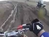 Crash mit einem Traktor