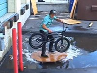 Creative BMX Riding