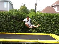 Die besten Pannen auf dem Trampolin - Compilation