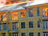 Die Hütte brennt