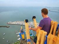 Die längste Seilrutsche der Welt