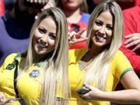 Die schönsten Fans der Fußball WM 2014