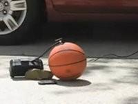 Explodierende Basketbälle