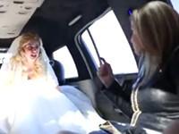 Extrem wütende Braut