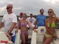 Harlem Shake auf einem Boot
