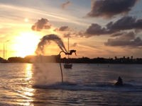 Insane Water Jetpacking Stunts