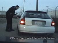 Irre Polizeikontrolle