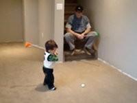Kleiner Golfer