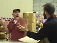 Mal den Arbeitskollegen erschrecken
