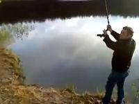 Mal eben über den See schwingen