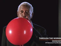 Morgan Freeman auf Helium