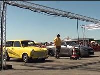 Nissan GTR vs Trabant