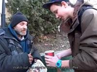 Obdachlosen glücklich machen