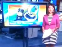 Peinliche Panne im Live TV