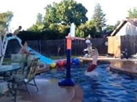Pool Party Trick Shot