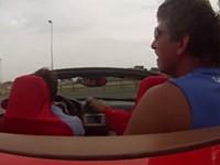 Probefahrt mit Ferrari geht schief