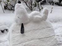 Schneeskulpturen in Japan