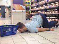 So gehen Tiere im Supermarkt einkaufen