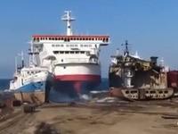 So sollte man mit einem Schiff nicht einparken