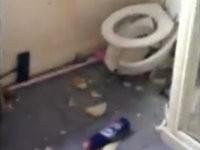 Streich: Silvesterböller in Toilette