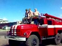 Streiche unter Feuerwehrmännern