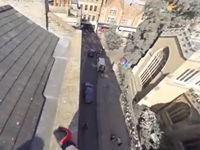 Über den Dächern von Cambridge