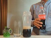 Wasser aus Cola heraus filtern