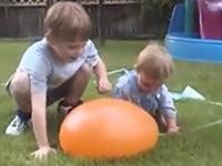 Wasserballon ärgern