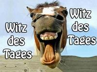Witz - Daumen in den Mund